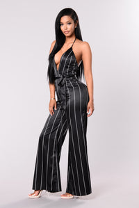 Skepta Jumpsuit - Black Stripe