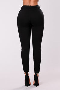 Imperfectly Perfect Pants - Black