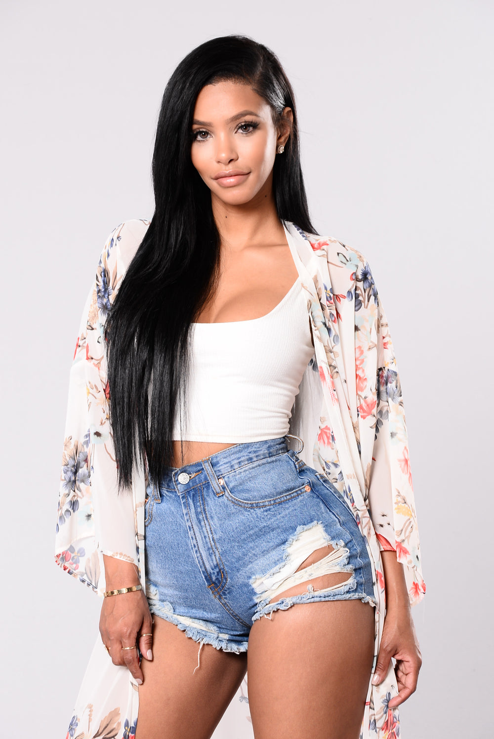 Groovy Dreamin Jacket - White