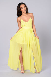 Sundance Dress - Yellow