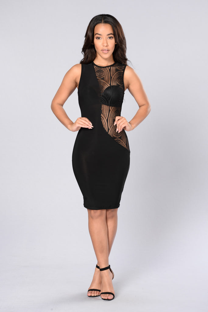 Out Of Luck Dress - Black