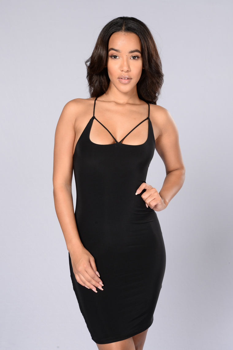 My Chick Bad Dress - Black