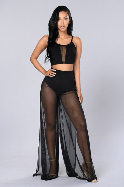 Total Mesh Pants - Black