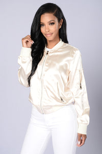 Ride The Wave Jacket - Cream