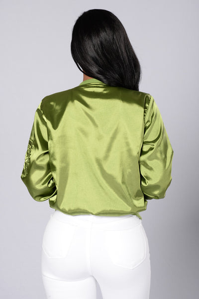 Ride The Wave Jacket - Olive