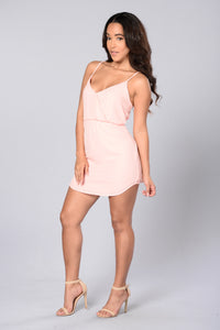 Absolutely Dress - Blush Angle 3
