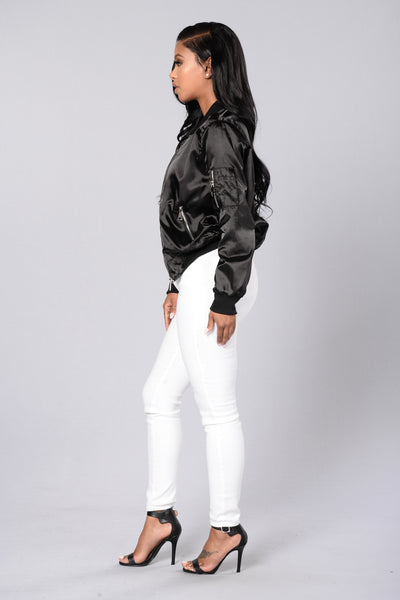 Ride The Wave Jacket- Black