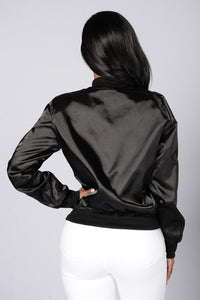 Ride The Wave Jacket - Black