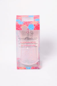 Cellu - Cup Anti - Cellulite Massage Cup - Glitter/Clear
