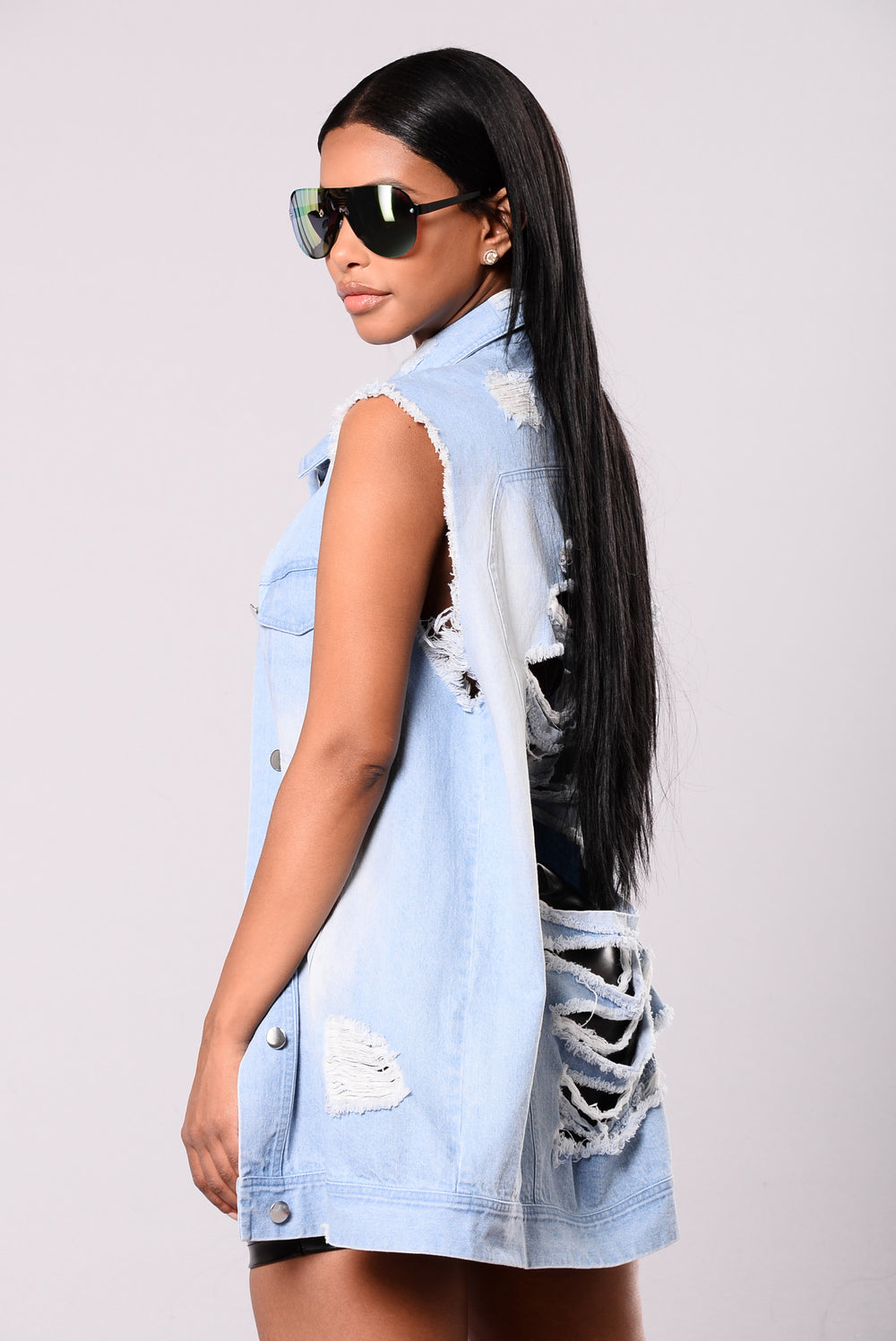 Dirt Off Your Shoulder Jacket - Light Denim