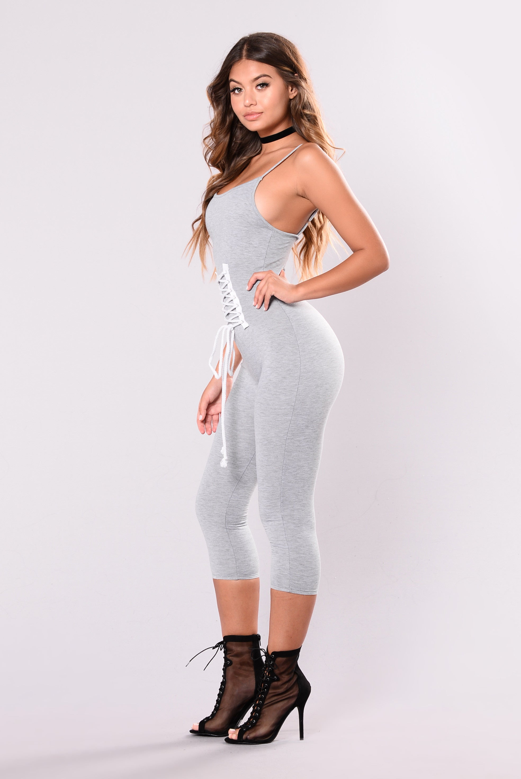 cca7ab3192d All Sexy Jumpsuit - Grey
