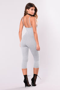 All Sexy Jumpsuit - Grey