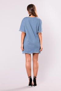 Innerbloom Dress - Denim