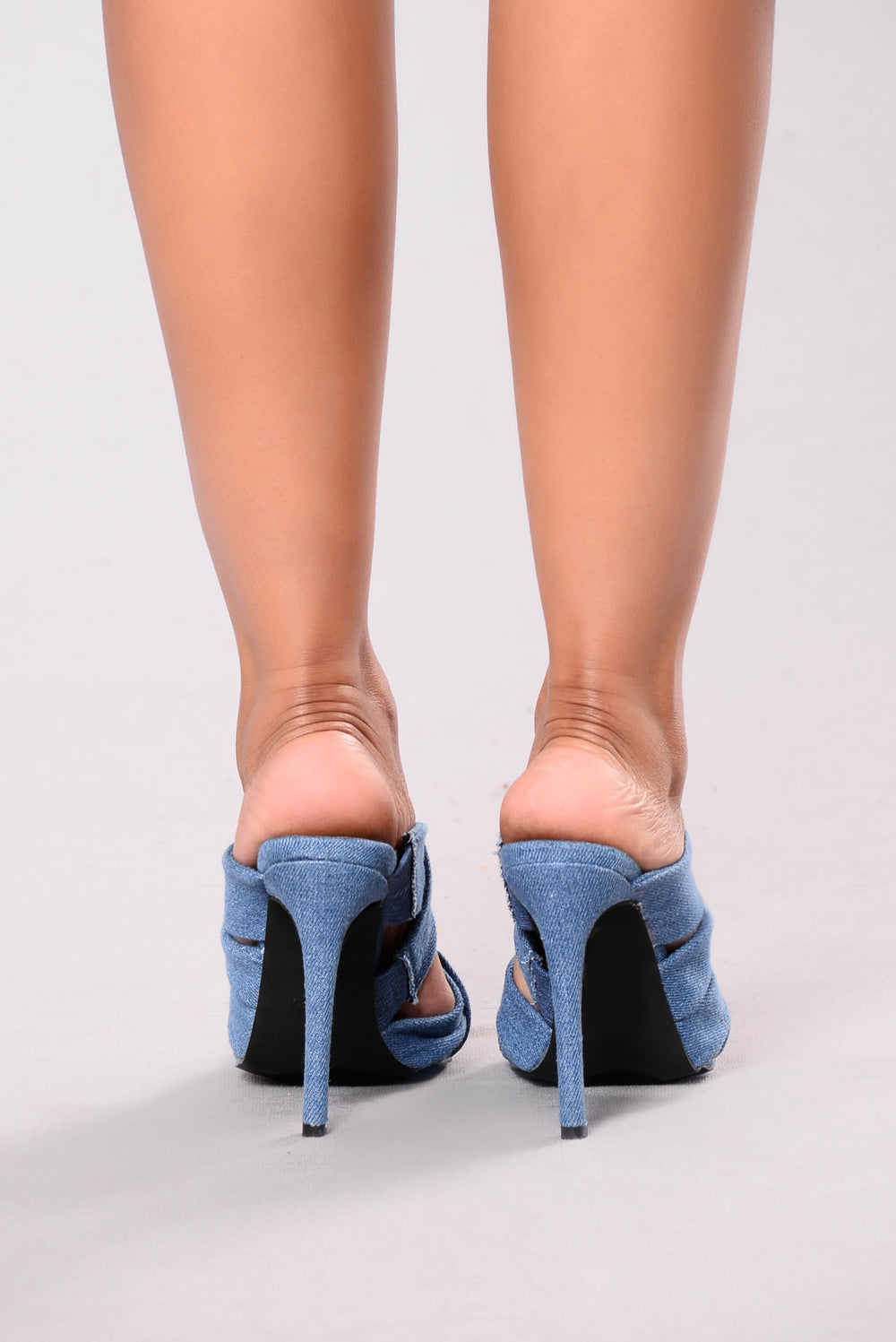 Do As You Please Mules - Denim