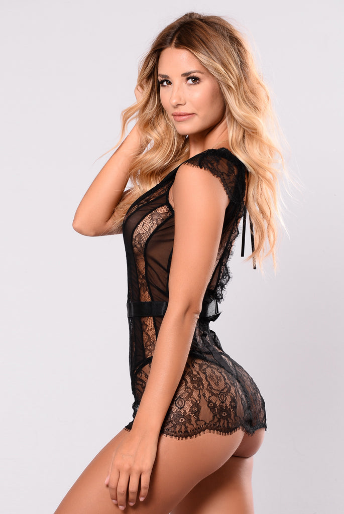 All Or Nothing Chemise - Black