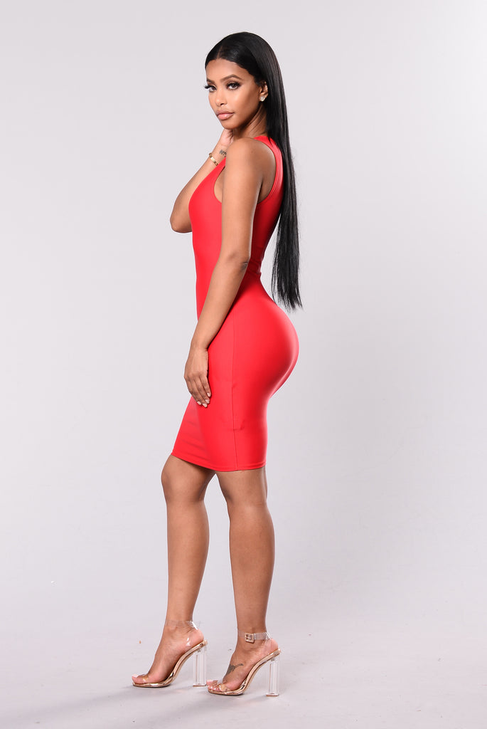 Main Chick Dress - Red