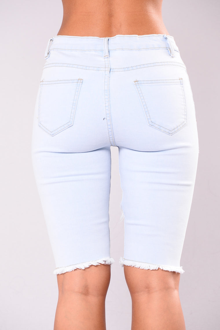 Best Of Everything Shorts - Light Blue