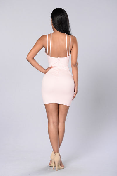 Calling Your Name Dress - Blush