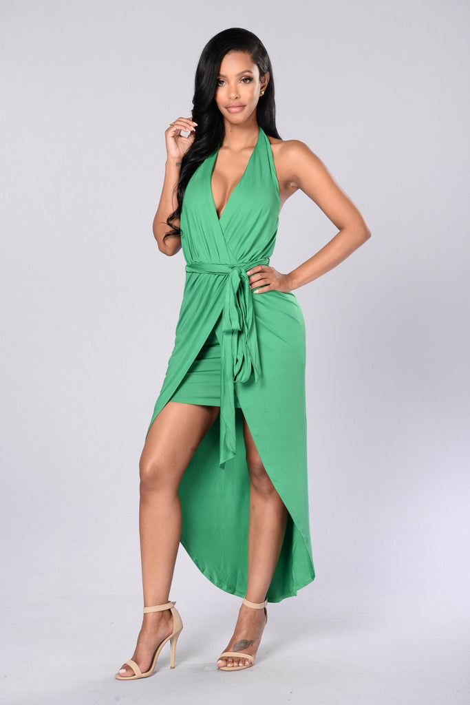 Venetia Dress - Green