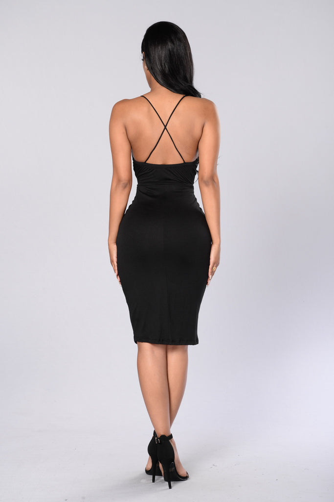 In The Loop Dress - Black