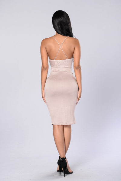 In The Loop Dress - Nude