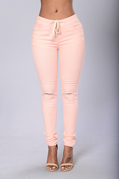 Cadet Pants - Peach