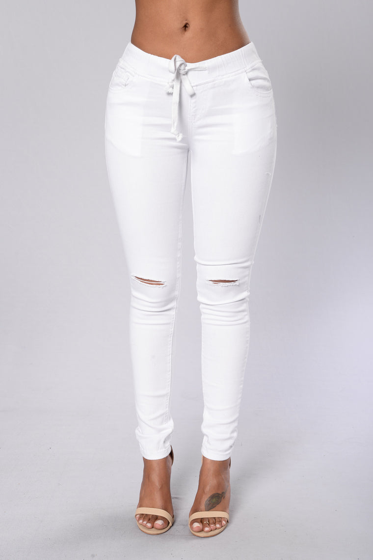 Cadet Pants - White