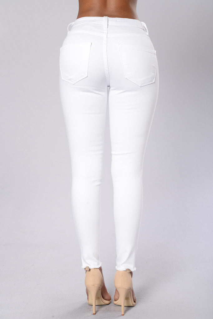 Bad Gal Jeans - White