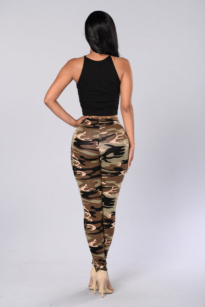 Take Charge Leggings - Camo