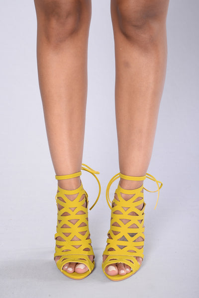 Unstoppable Heel - Yellow