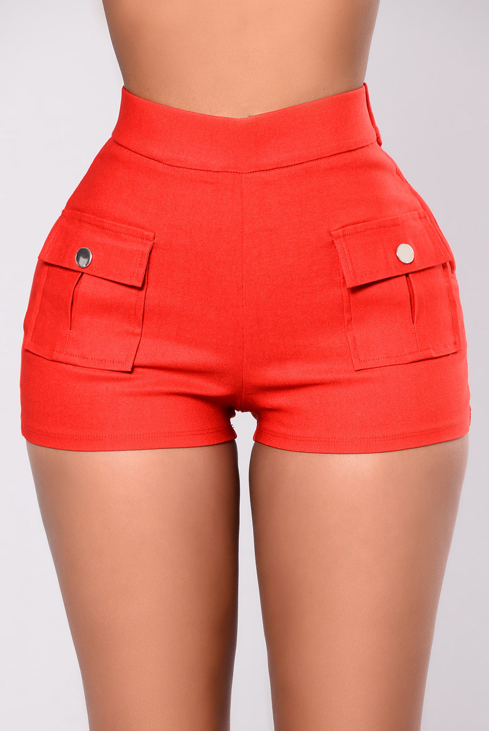 Amaryllis Shorts - Red