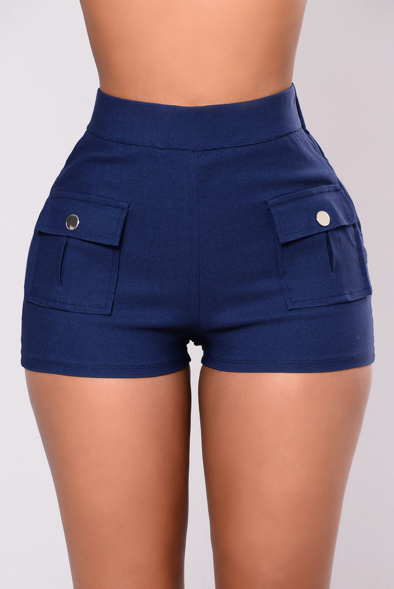 Amaryllis Shorts - Navy