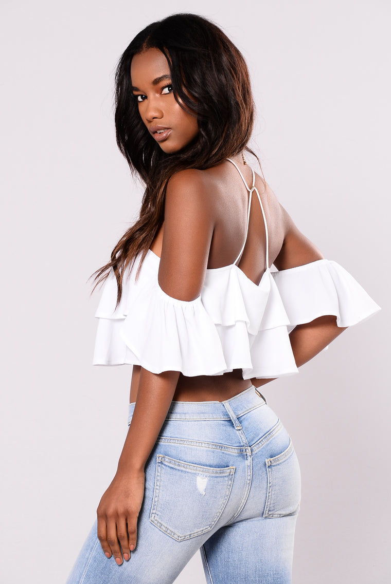 Bound To Glow Top - White