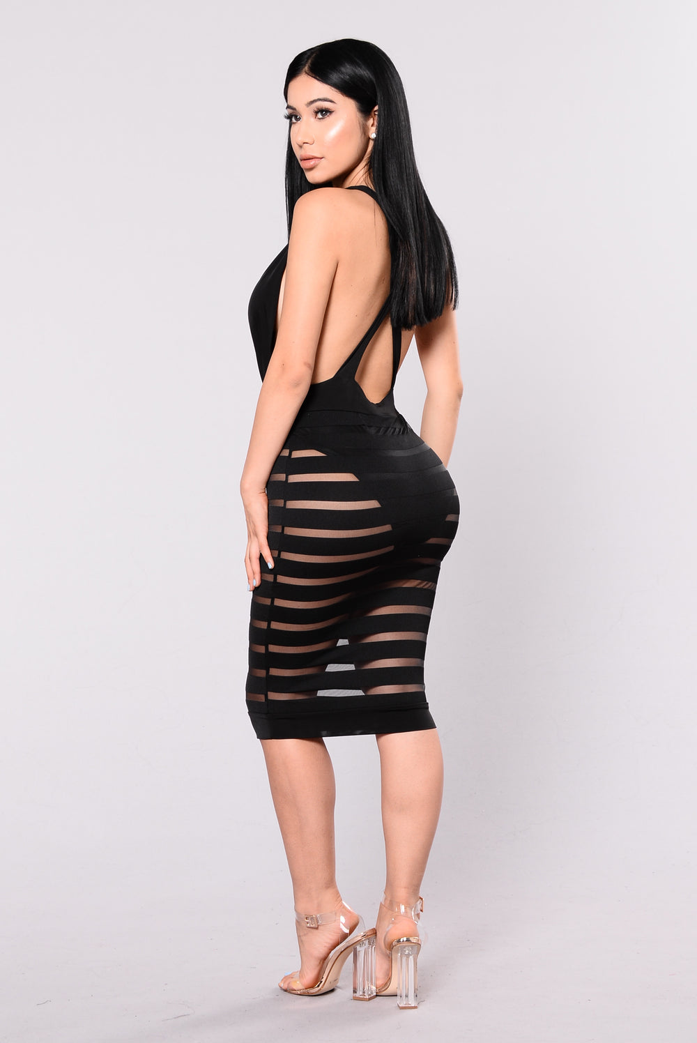 Contigo Dress - Black
