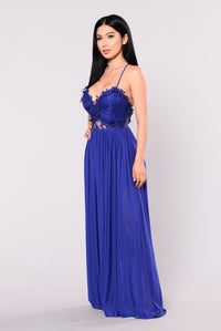 Hello Darling Dress - Royal