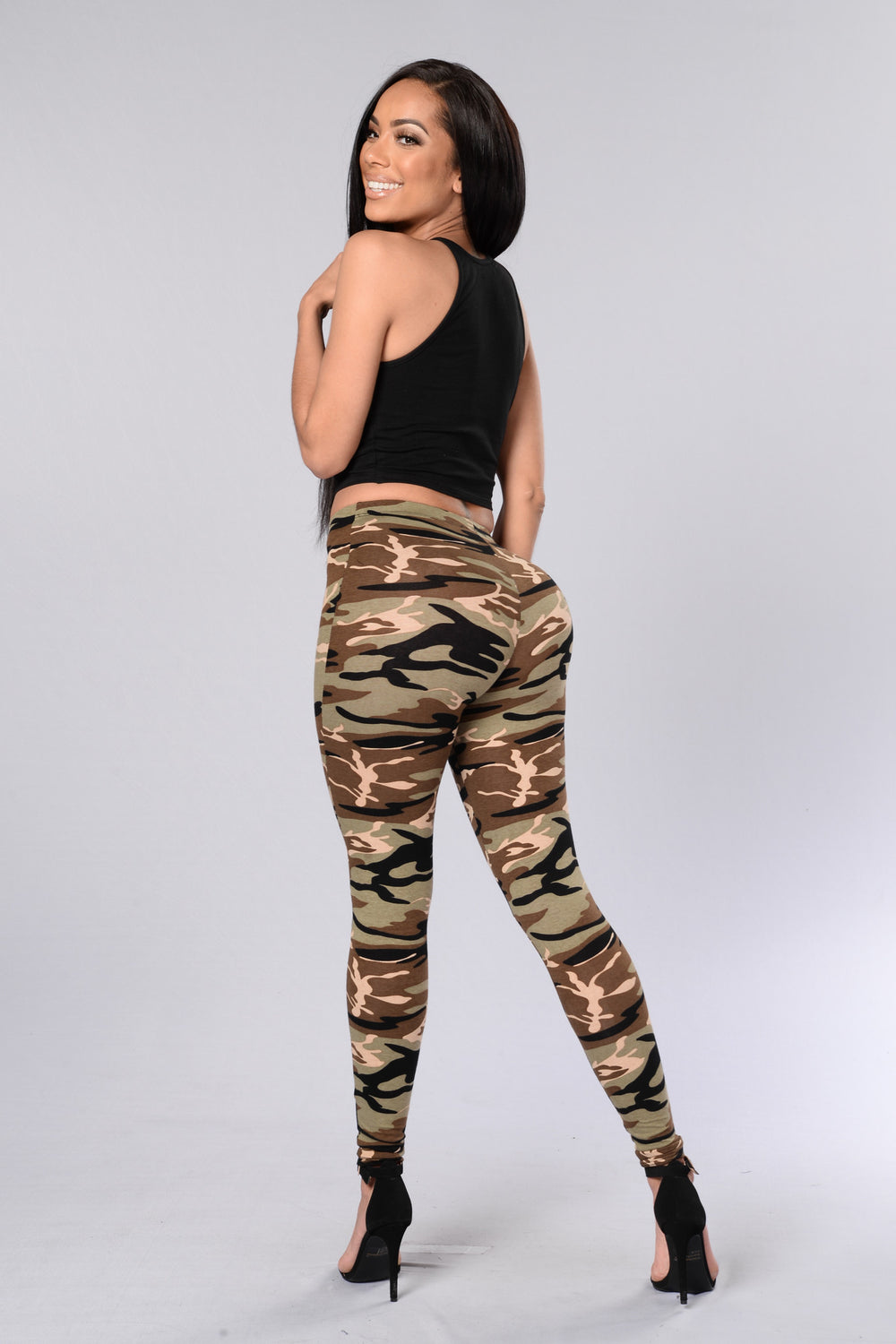 Military Leggings - Camo