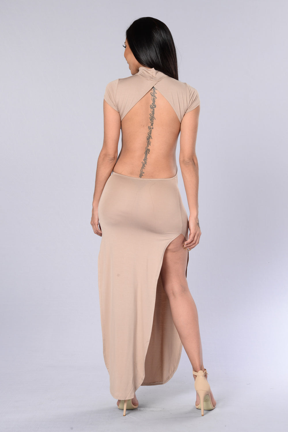 Aphrodisiac Dress - Taupe