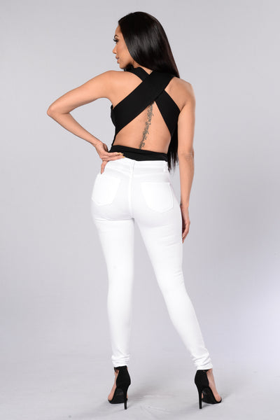 Fatal Attraction Bodysuit - Black