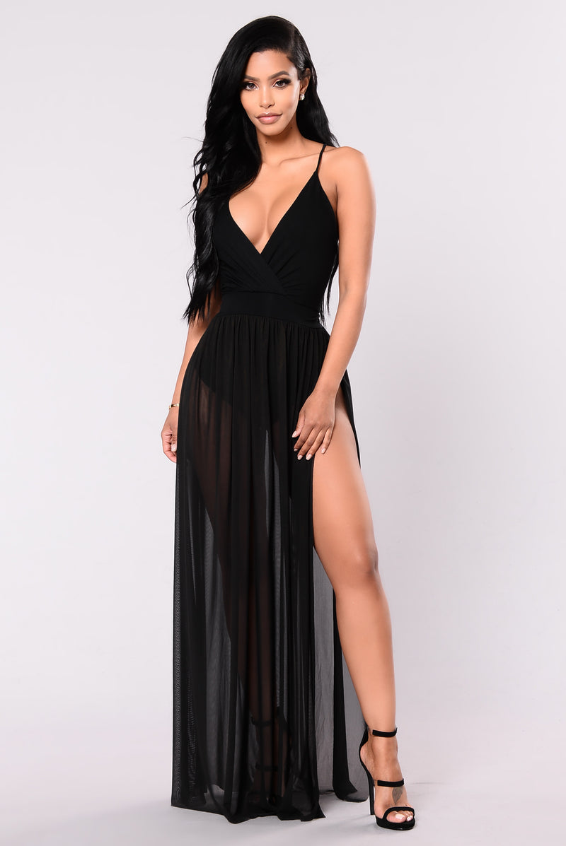 Drama Queen Dress - Black