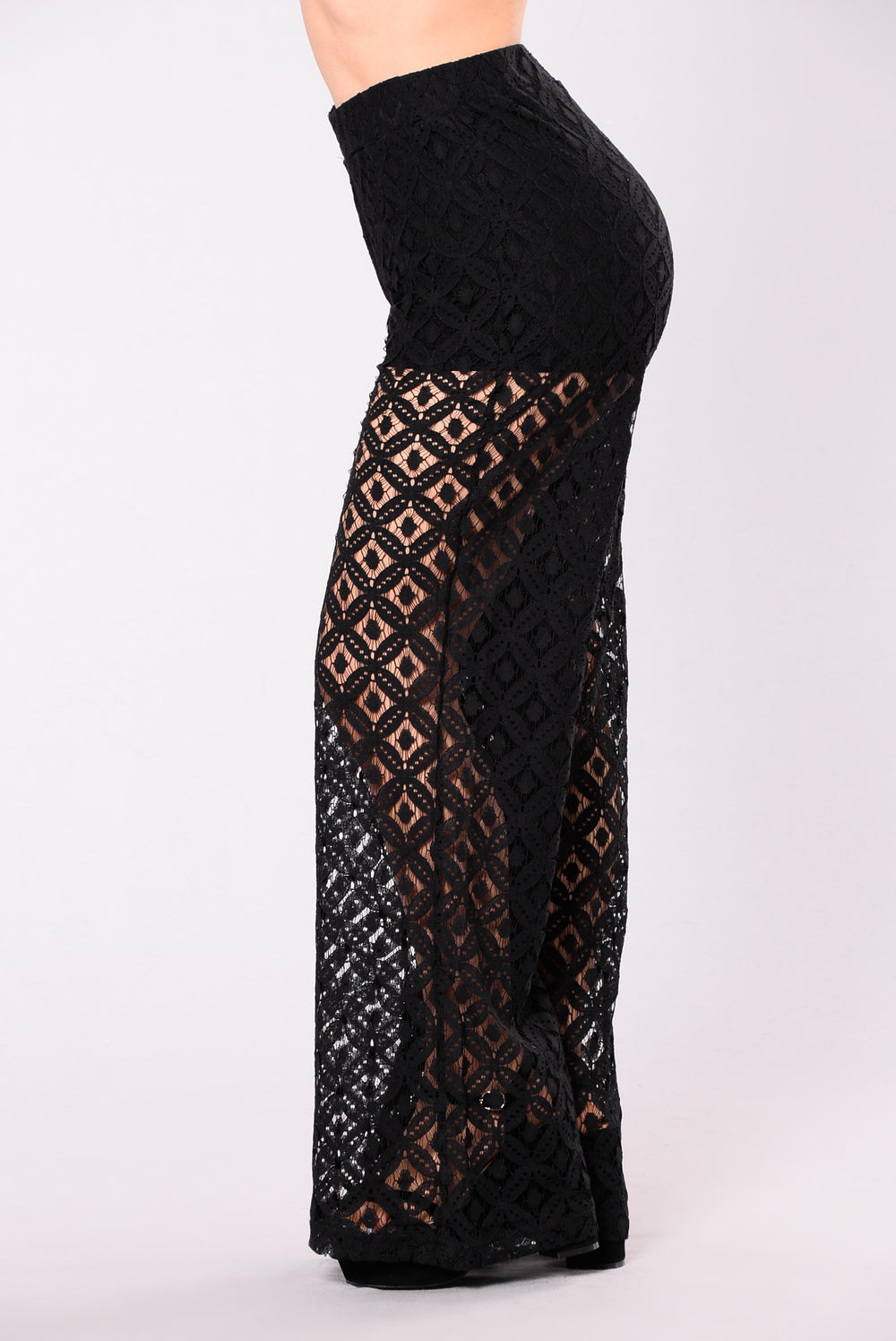 Ramona Lace Pants - Black