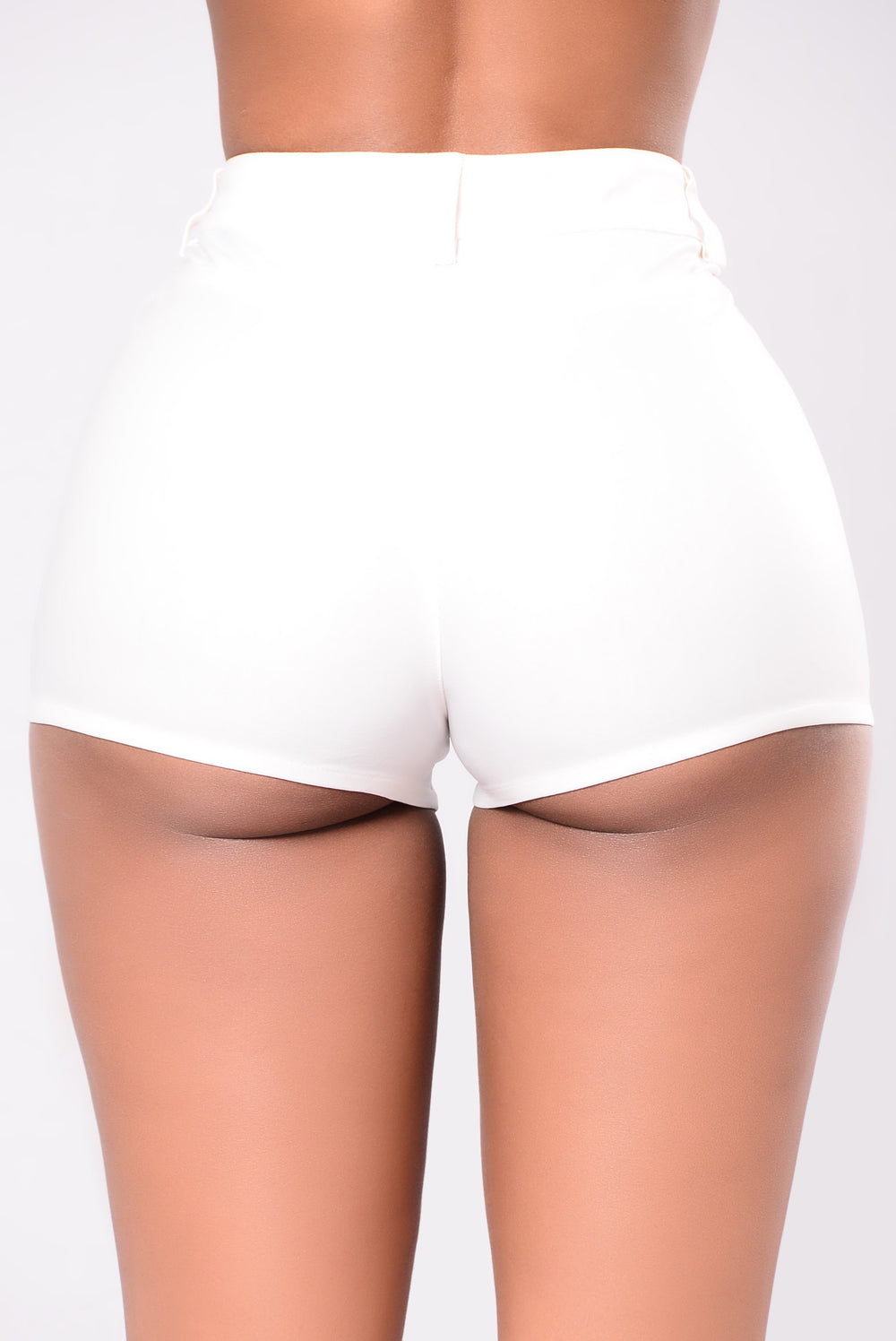 I Confess Shorts - White