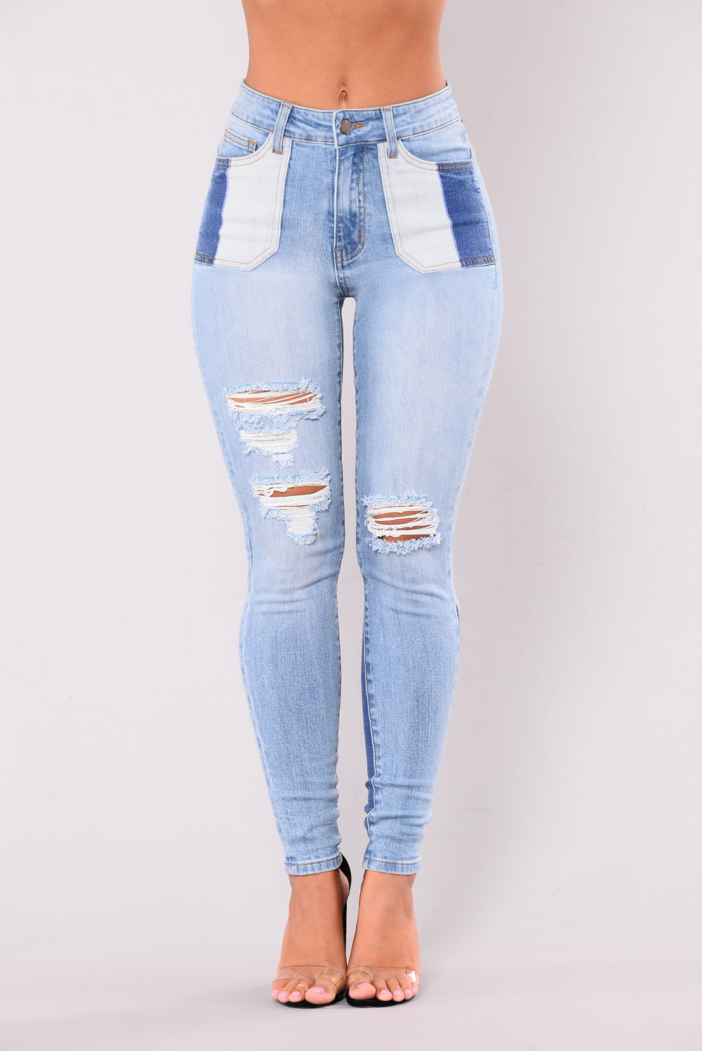 3 Missed Calls Jeans - Light Wash