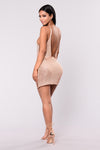Courtney Dress - Rose Gold