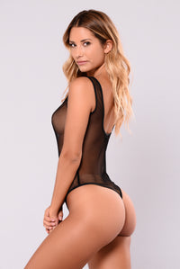 Out Of Water Bodysuit - Black
