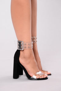 Vine Night Heel - Black