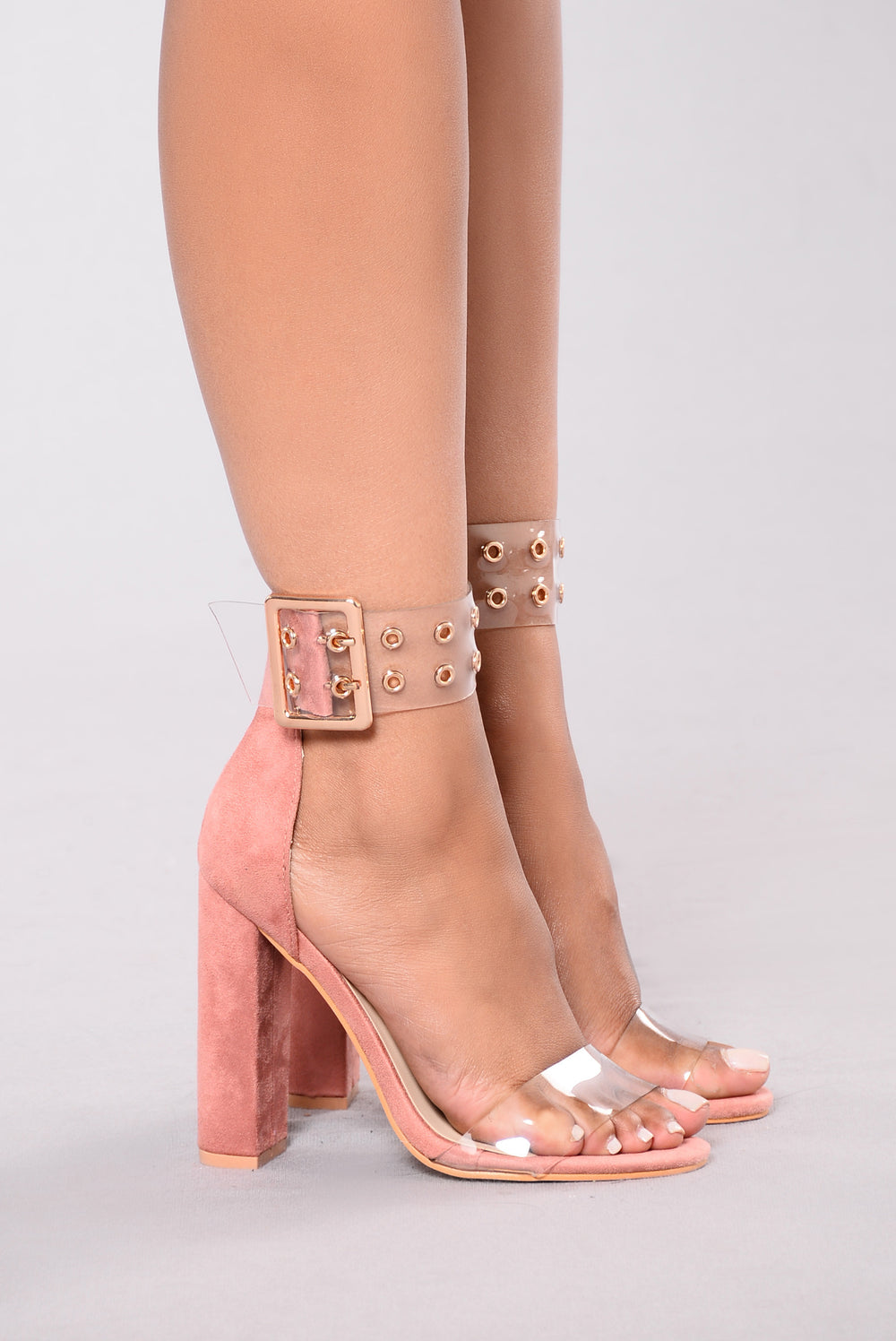 Vine Night Heel - Blush