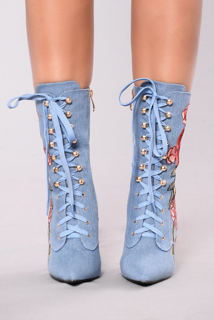 Too Good With These Boot - Denim