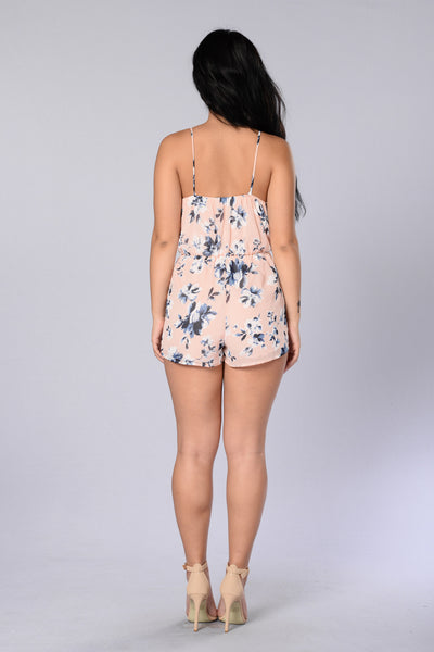 Self Creation Romper - Pink