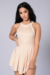 Penelope Dress - Nude