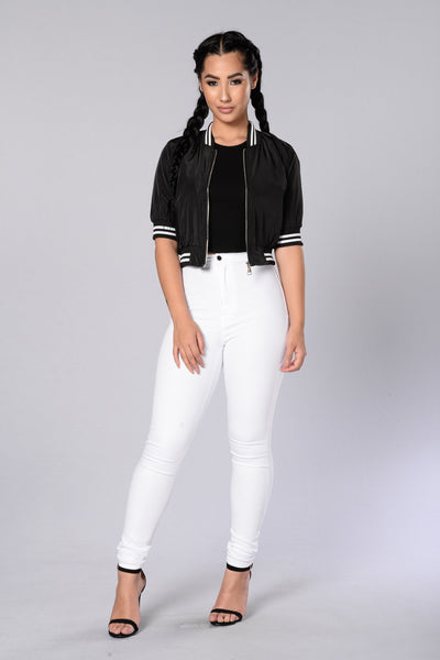 Dionne Bomber Jacket - Black